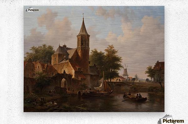 Stadsgezicht mogelijk Den Haag  Metal print