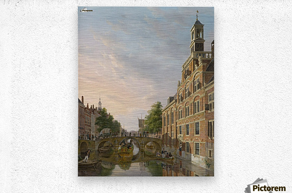 The Old Women and Children Home at the Spui, The Hague  Metal print