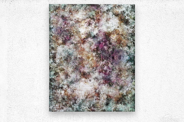 Quietly being a ghost  Metal print
