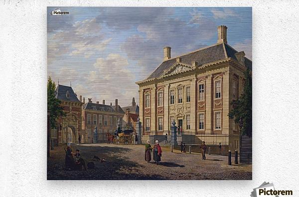 Het Mauritshuis te Den Haag  Metal print