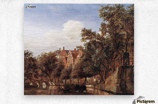 View of the Herengracht, Amsterdam  Metal print