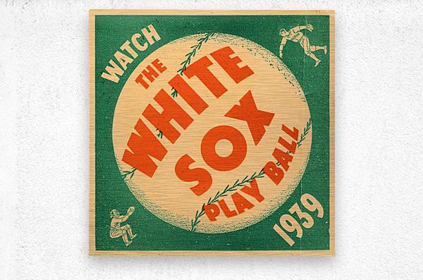 1939 Chicago White Sox Art  Metal print