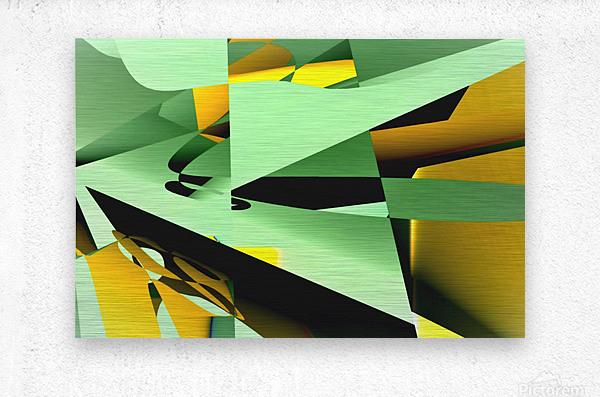 paper cutting 2005122028  Metal print