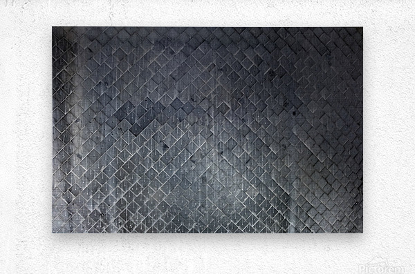 Underside of Space Shuttle Endeavour   Metal print