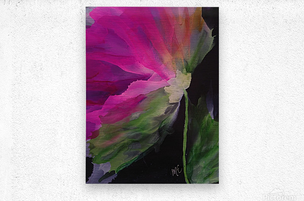 Windblown Blossom  Metal print