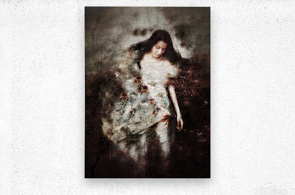 Clothed with Strength and Dignity  Metal print
