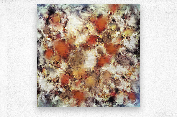Terracotta tumble  Impression metal
