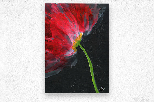 Fantastical Flower  Metal print