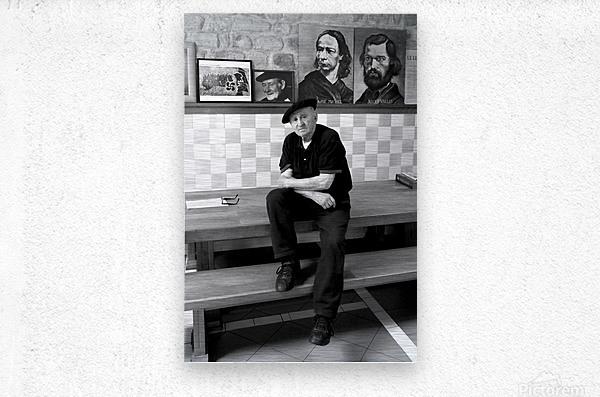 Lucio Uturbia   Anarchist  Metal print