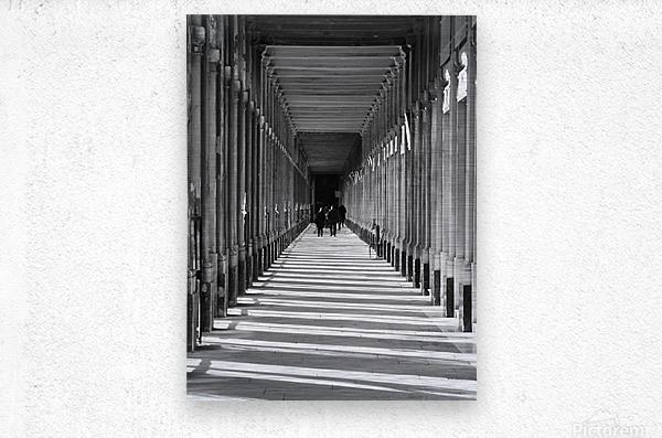Palais Royale  Metal print