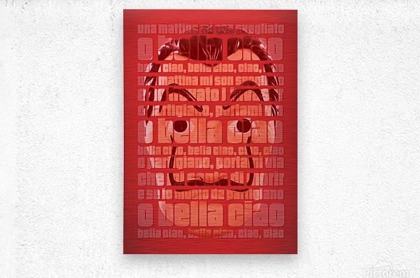Bella Ciao  Metal print
