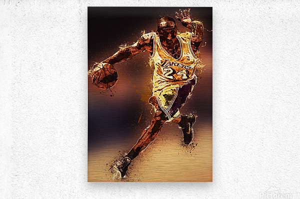 Kobe Bryant Best Moments 8  Metal print