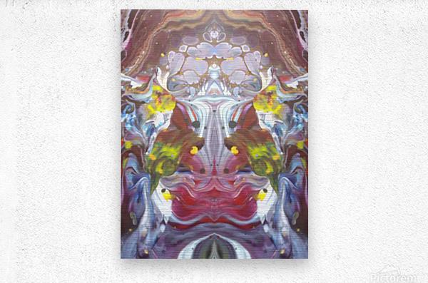 mirror26  Metal print