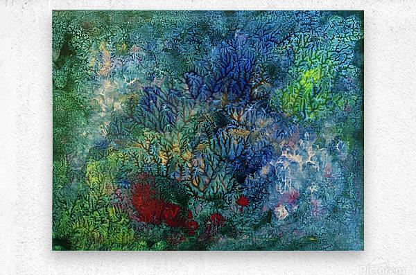 The Reef  Metal print
