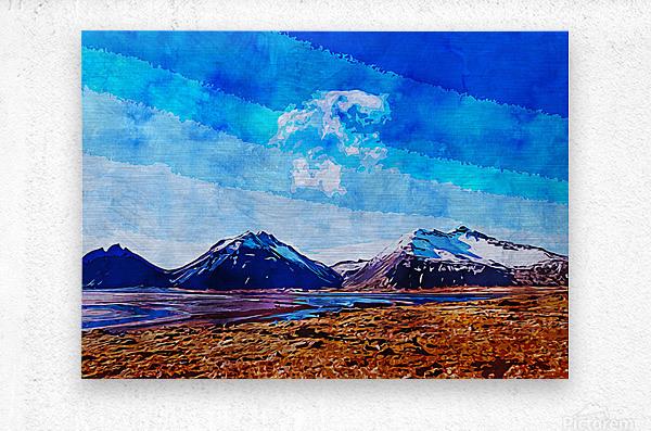 Nature View   Metal print