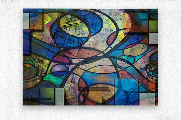 Trendy Abstract Art  Metal print