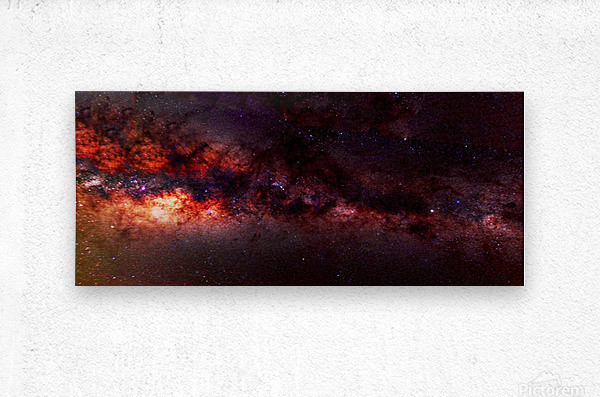 Hymn of the Cosmos  Metal print