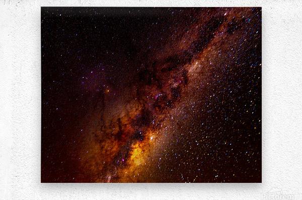 Galactic Core Explosion  Metal print