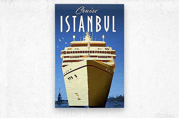 Cruise Istanbul  Metal print