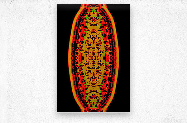 Shiva linga  Metal print