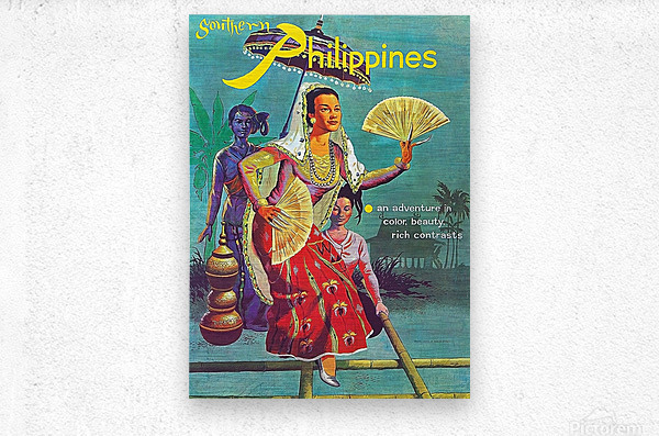 Philippines  Metal print