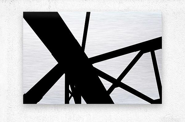 Bridge - XXIII  Metal print