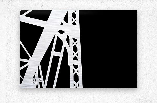 Bridge - XXIV  Metal print