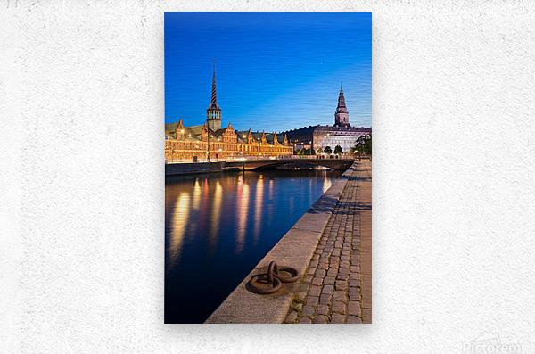 COPENHAGEN 04  Metal print