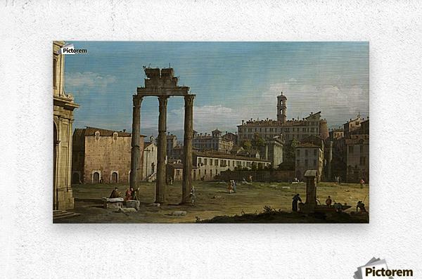Ruins of the Forum, Rome  Metal print