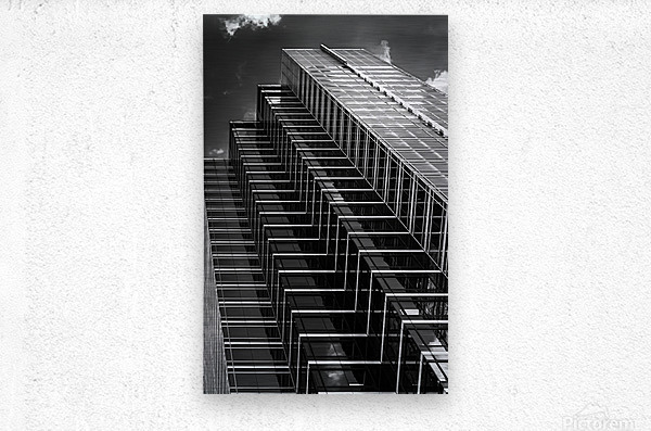 Step Up To The Sky  Metal print