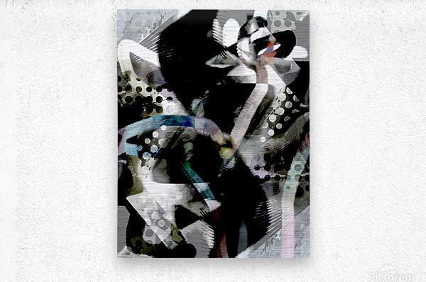 j A Z U  Metal print