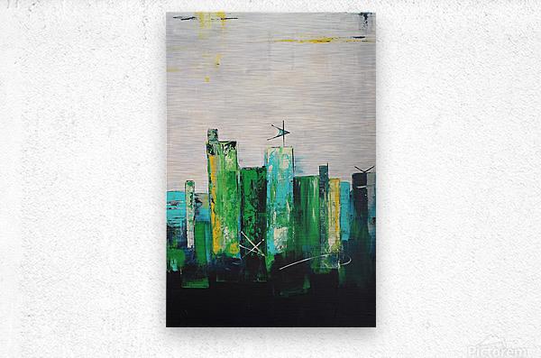 Uptown XIX  Metal print