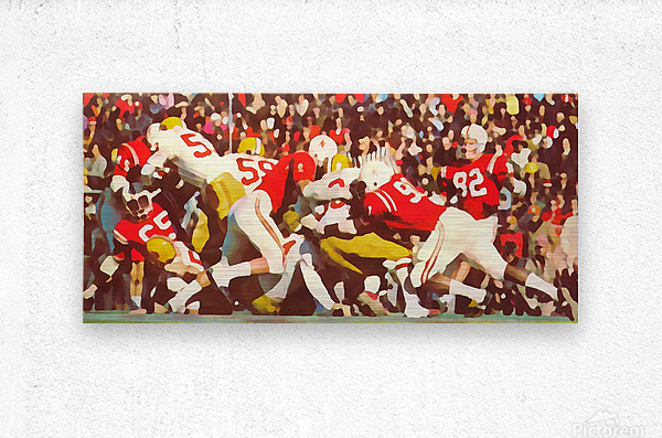 Saturday Afternoon In Lincoln  Metal print