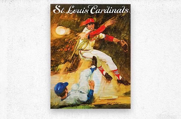 1972 St. Louis Cardinals  Metal print