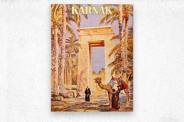 Karnak  Metal print