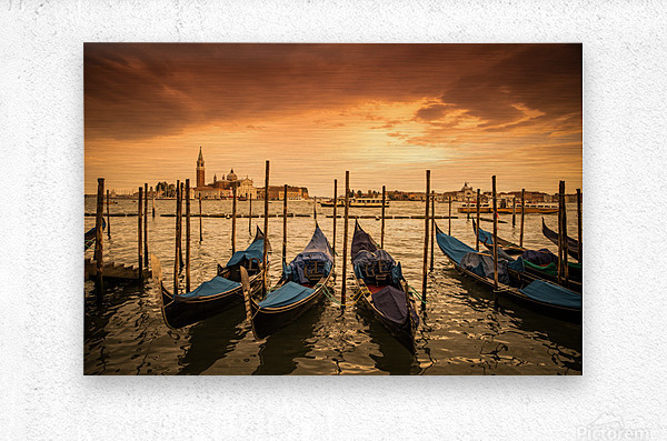 Venise  Metal print