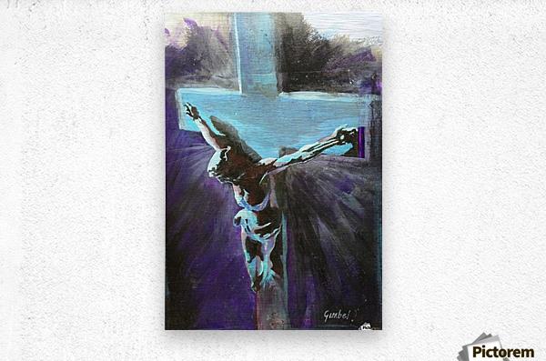 Jesus  Metal print