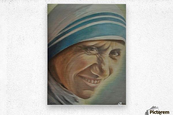 Mother Teresa (c)  Metal print
