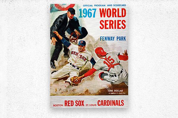 vintage advertisement heinz ketchup   Metal print