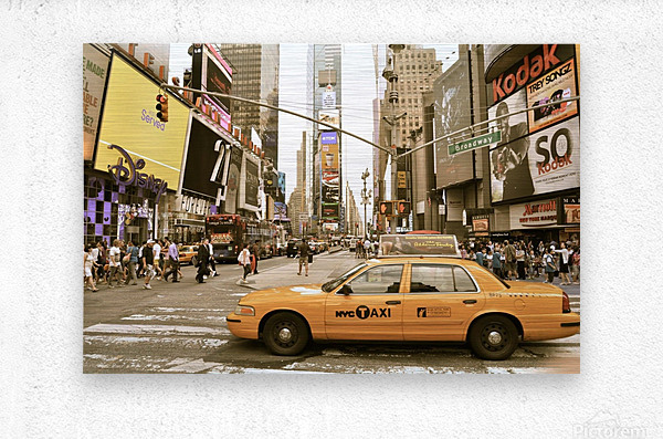 Newyork newyork  Metal print