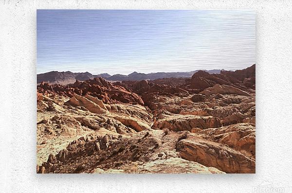 Canyon   Metal print