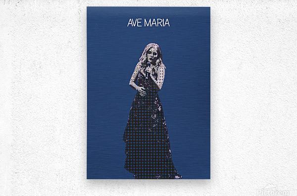 Ave Maria   Jackie Evancho  Metal print