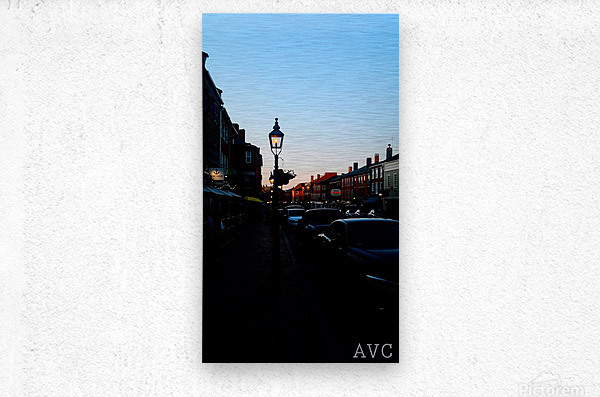 Main Street Newburyport  Metal print
