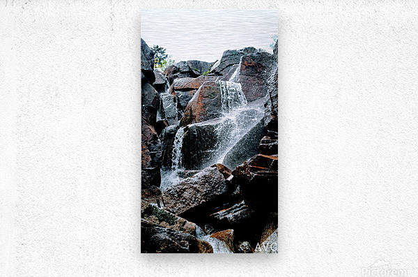 Zealand Falls NH  Impression metal