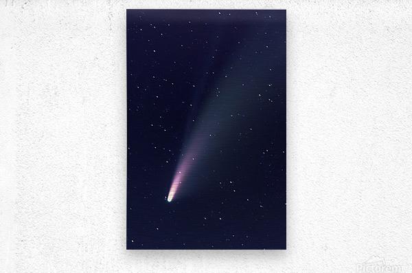 Neowise Comet 2020  Metal print