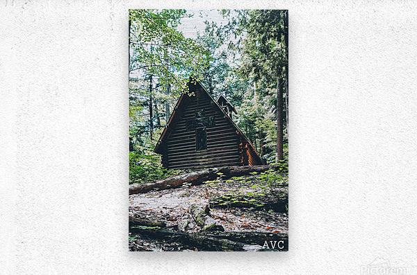 Chapel in the Woods  Metal print