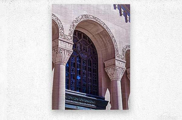 Foster Memorial Window  Metal print