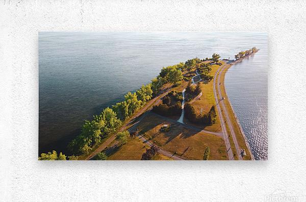West River Shore  Metal print
