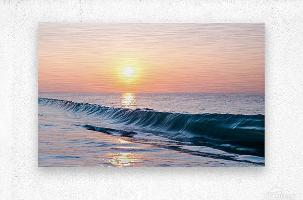 Smooth Wave   Metal print