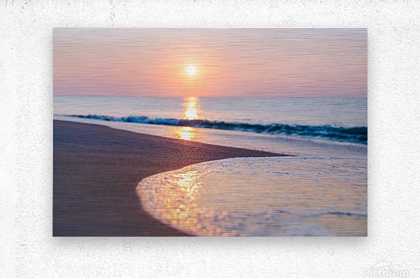 Seashore Bliss  Metal print
